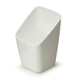 Verre Dégustation Plastique Blanc 4x4x7cm (200 Unités)