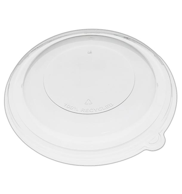 Couvercle Dôme en Plastique rPET Cristal Ø21x3cm (25 Utés)