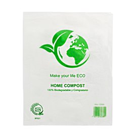 Sac Plastique Block 100% Home Compost 30x40cm (2.000 Utés)