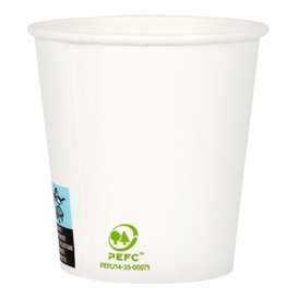 Gobelet Carton Blanc 4Oz/120ml Ø6,2cm (80 Unités)