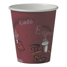 """Gobelet Carton 6oz/180ml Café """"Bistro"""" Ø7,4cm (1000 Utés)"""