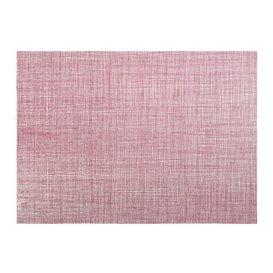 """Set de Table papier 30x40cm """"Entre Lignes"""" Bordeaux 40g/m² (1000 Utés)"""
