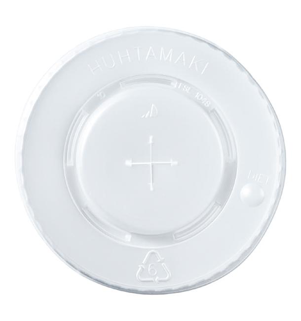 Couvercle Perforé PS Gobelets 8,9,12Oz 375 ml Ø8cm (100 Utés)