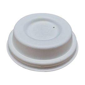 Couvercle en Fibre Moulée blanc Ø6,2cm (50 Utés)