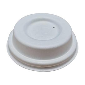 Couvercle en Fibre Moulée blanc Ø6,2cm (2.000 Utés)