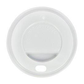 Couvercle Perforé pour Gobelet Carton 7Oz Blanc Ø7,2cm (100 Utés)