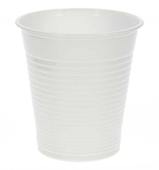 Gobelet Plastique Blanc 200ml (100 Unités)