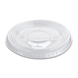 Courvercle PET Non Perforé Transparent Ø9,4cm (100 Unités)