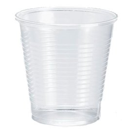 Gobelet Plastique PP Transp. 166ml Ø7cm (100 Unités)