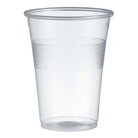 Gobelet Plastique PP Transparent 300ml Ø7,7cm (50 Unités)