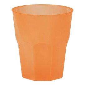 """Verre Plastique """"Frost"""" Orange PP 270ml (420 Unités)"""