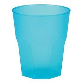 """Verre Plastique """"Frost"""" Turquoise PP 270ml (420 Unités)"""