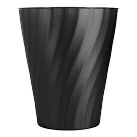 """Gobelet Plastique PP """"X-Table"""" Noir 320ml (8 Utés)"""