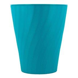 """Gobelet Plastique PP """"X-Table"""" Turquoise 320ml (8 Utés)"""
