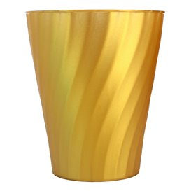 "Gobelet Plastique PP ""X-Table"" Or 320ml (8 Utés)"