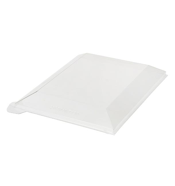 Couvercle Plastique PET 13x13cm (100 Unités)