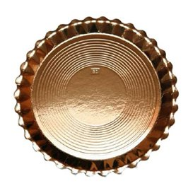 Assiette en Carton Ronde Doré Venus 250 mm (200 Unités)