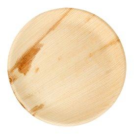 Assiette en Feuilles de Palmier 23,0 cm (25 Unités)