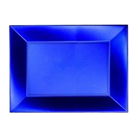 Plateau Plastique Bleu Nice Pearl PP 280x190mm (12 Utés)