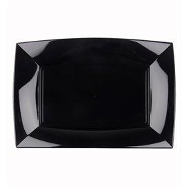 Plateau Plastique Noir Nice PP 280x190mm (240 Utés)