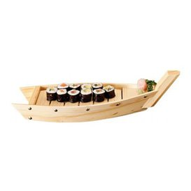 Bateau en Bois pour Sushi 44x13x11cm (1 Uté.)