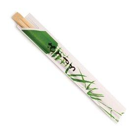 Baguettes Chinoises Bambou En sachet 200mm (2000 Unités)