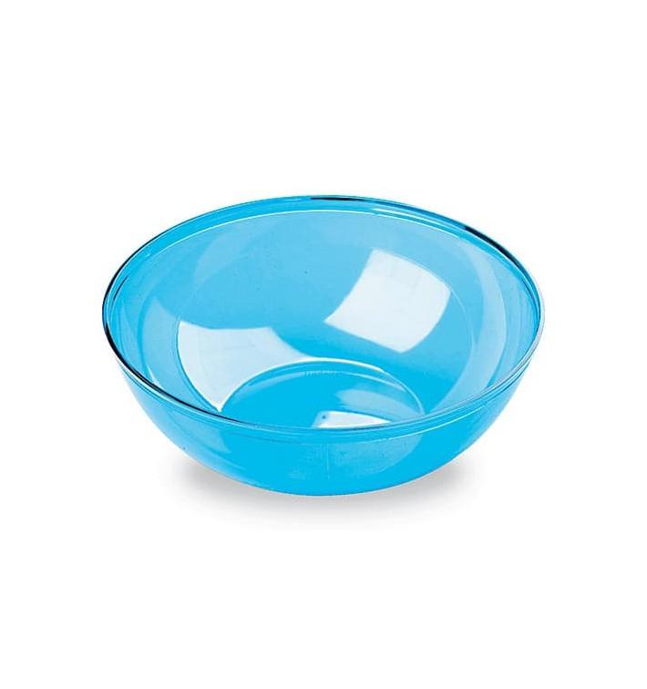 Bol PS Cristal Dur Turquoise 400ml Ø14cm (60 Utés)