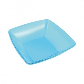 Bol PS Cristal Dur Turquoise 480ml 14x14cm (4 Utés)