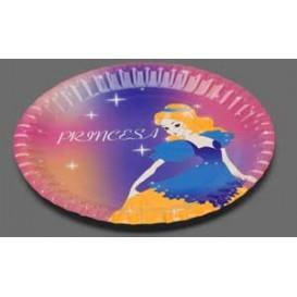 Assiette carton Princesse 18cm (504 Unités)
