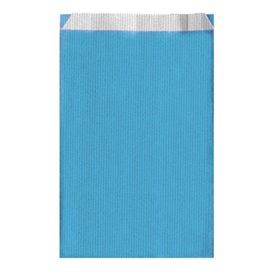 Sac Papier Turquoise 26+9x46cm (125 Unités)