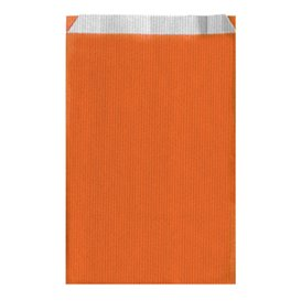 Sac Papier Orange 12+5x18cm (125 Unités)