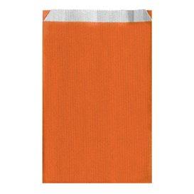 Sac Papier Orange 19+8x35cm (125 Unités)