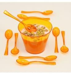 Cuillère Plastique Premium Orange 160mm (180 Unités)