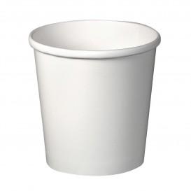 Pot en Carton Blanc 16Oz/473ml Ø9,8cm (500 Unités)
