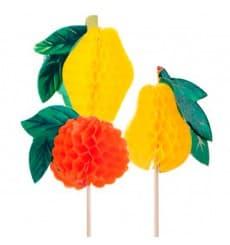 Piques de Décoration Fruit 10cm (5.000 Utés.)
