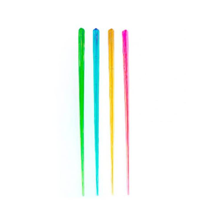 Agitateur à Boisson Plastique Fluorescent 175mm (1.000 Utés)