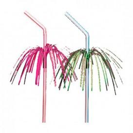 Pailles Flexibles Palm Ø5mm 23 cm (100 Unités)
