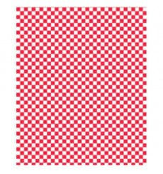 Papier Ingraissable Rouge 31x31cm (4000 Utés)