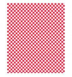 Papier Ingraissable Rouge 31x38cm (4000 Utés)