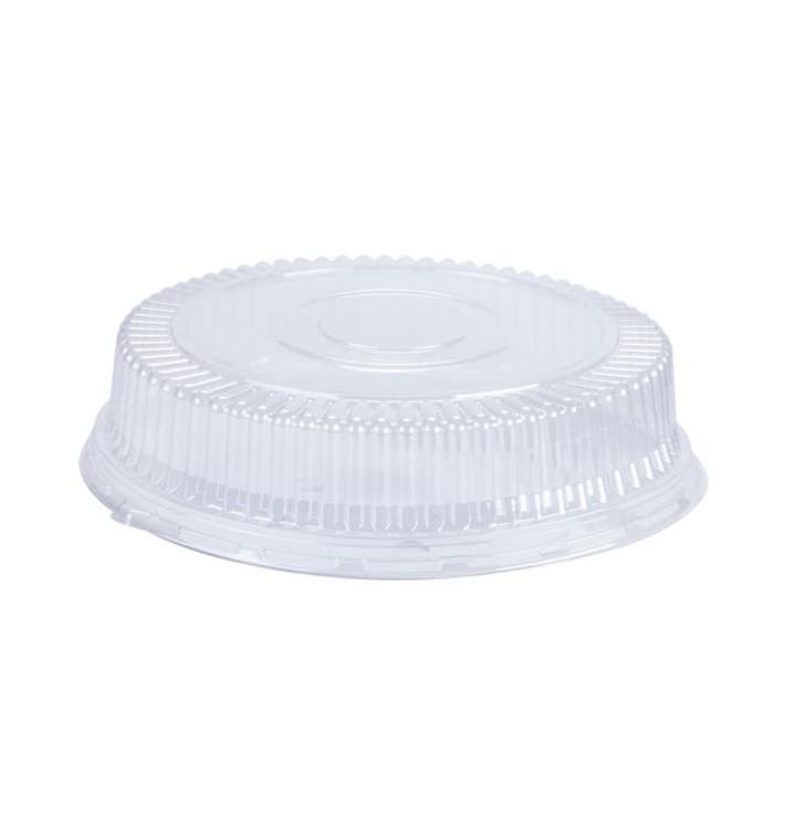 Couvercle Dôme Plastique PS Cristal Ø15x4cm (125 Unités)