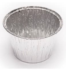 Récipient Aluminium Flan 127ml (100 Unités)