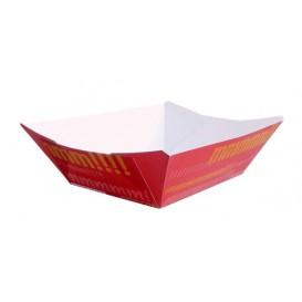 Barquette Carton 525ml 12,1x8,1x5,5cm (25 Unités)