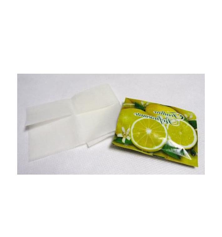 Lingettes Rafraîchissantes Citron en sachet (100 Unités)
