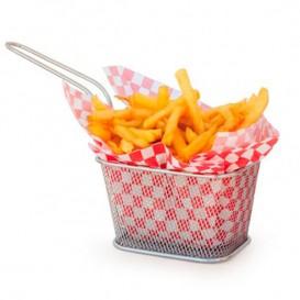 Mini friteuse de Présentation en Acier 13x11x8cm (6 Unités)
