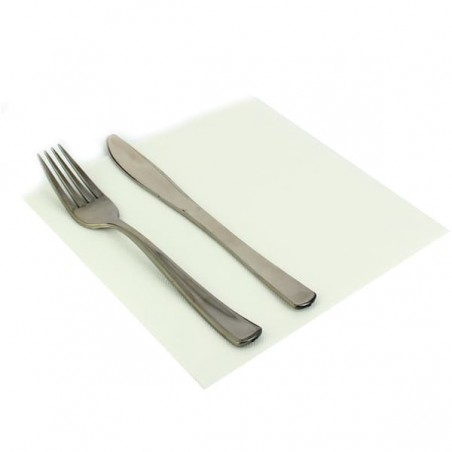 Serviette en papier UNIE 40X40 Blanche (50 Unités)