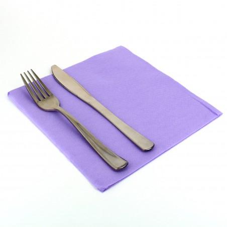 Serviette en Papier 40x40 Violet (50 Unités)