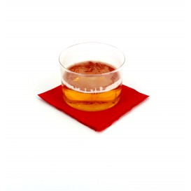 Serviette Papier à Cocktail 20x20 Rouge (100 Unités)