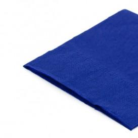 Serviette Papier à Cocktail 20x20 Bleu (6.000 Unités)