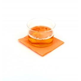 Serviette Papier à Cocktail 20x20 Saumon (6.000 Unités)