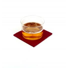 Serviette cocktail 20x20 Bordeaux (100 Unités)